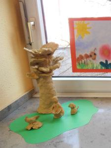 Ausstellungsstücke beim Festakt zum 30-jährigen Bestehen des ELTERNTREFF am 19. Februar 2015 im Speisesaal der Kinderklinik